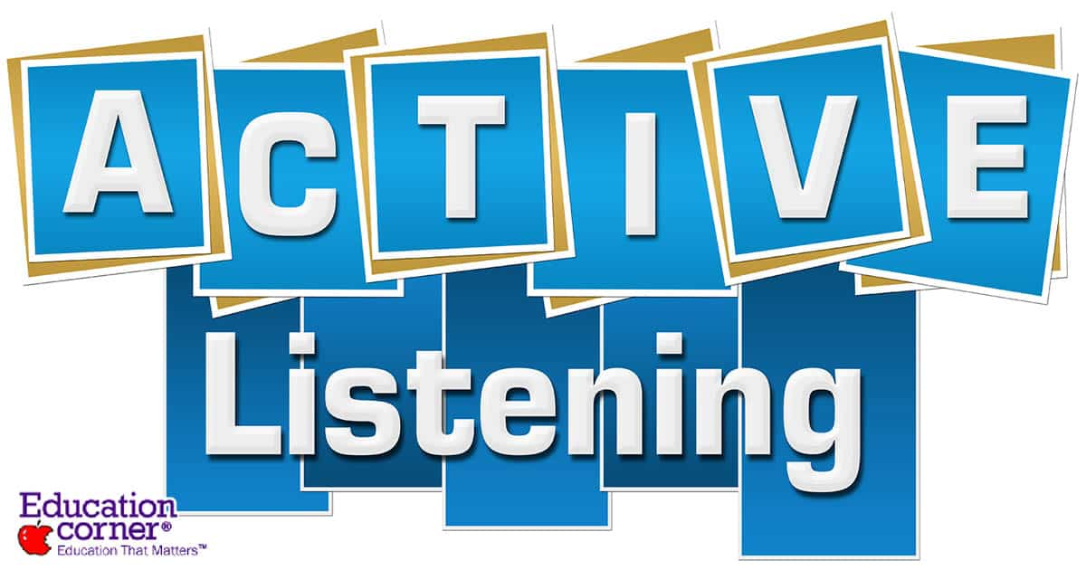 Guide to active listening skills