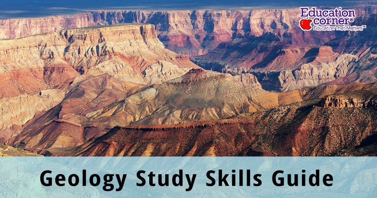 Geology Study Skills Guide