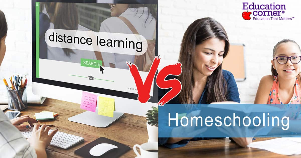 homeschooling or distance e-learning