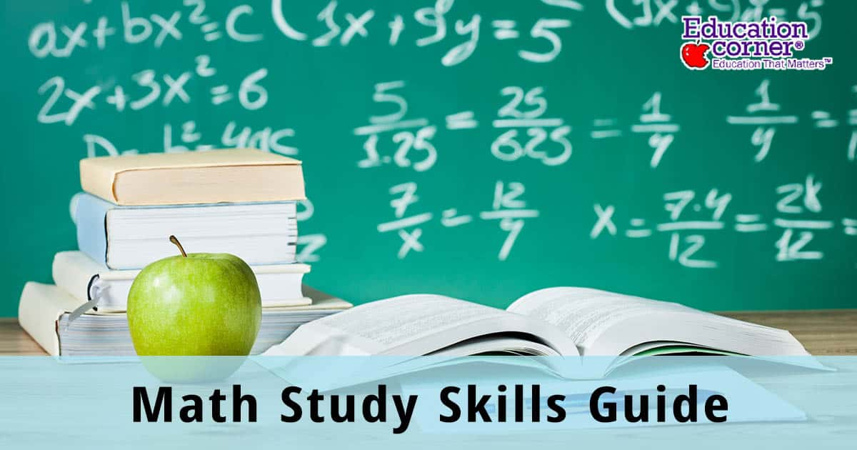Study Skills Guide for Studying Math
