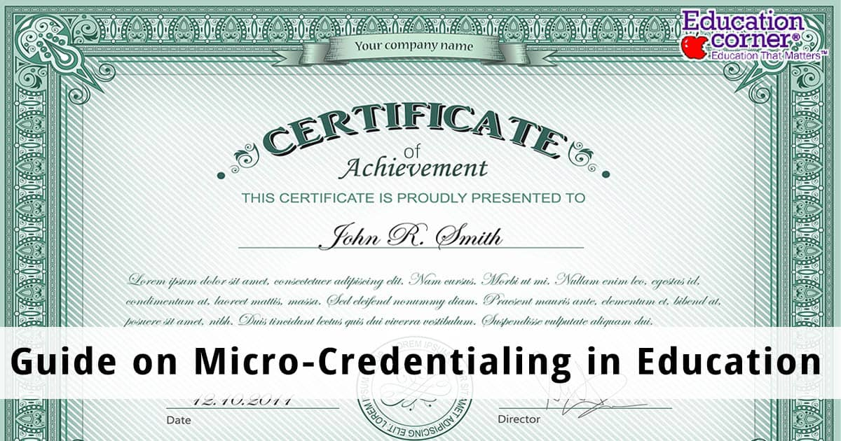 Micro-credentialing Guide