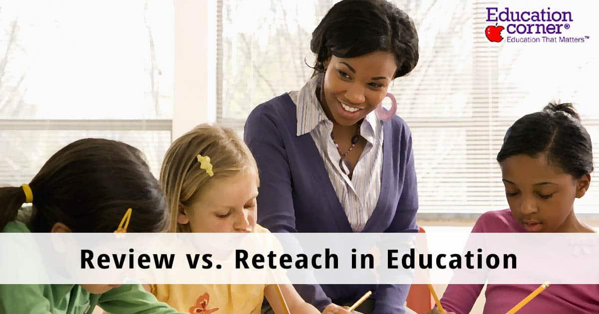 Review and Reteach in education