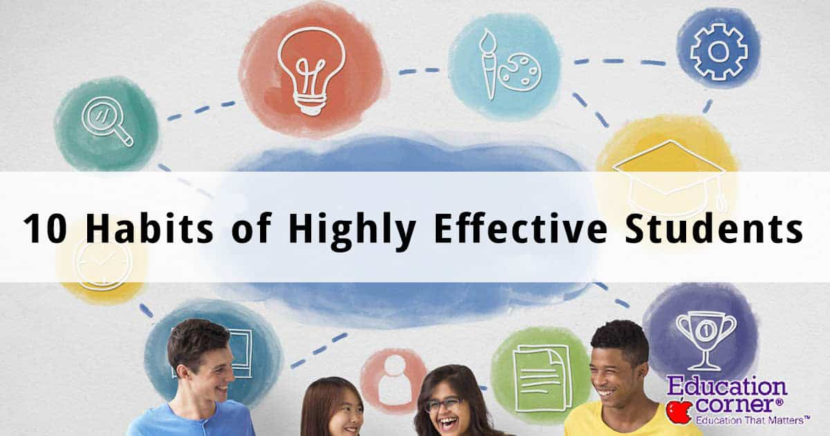 Important New Study Of Homework >> Study Habits Of Highly Effective Students